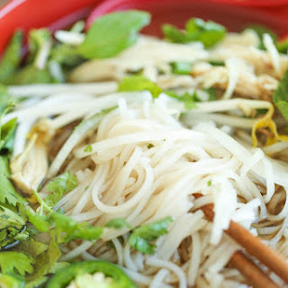 Cheater Pho (Asian Noodle Soup).