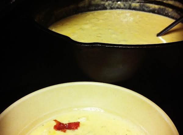 Twice Baked Potato Soup Recipe
