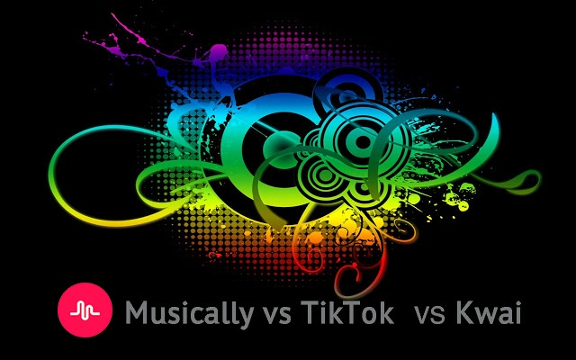 Musically vs TikTok vs Kwai