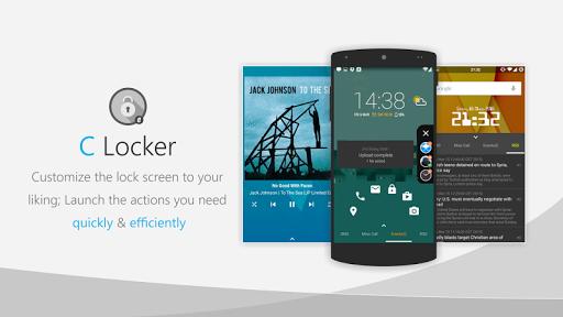 C Locker Free (Widget Locker) screenshot 8