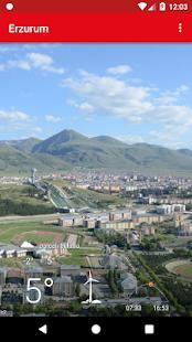 Erzurum Hava Durumu Tahmini - náhled