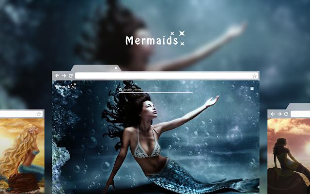 Mermaids - Sirens of the Sea HD Theme