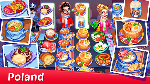 Crazy My Cafe Shop Star - Chef Cooking Games 2020 screenshots 2