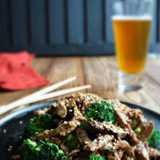 Japanese Sesame Beef and Broccoli