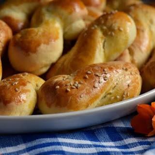 Greek Cookies Koulourakia.