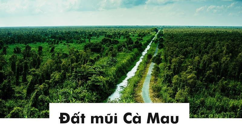 Đất mũi Cà Mau.