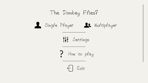 The donkey flies