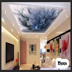 идеи дизайна гипсового потолка