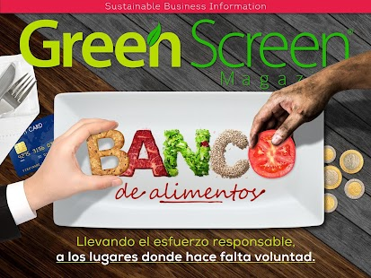 Green Screen Magazine: miniatura de captura de pantalla