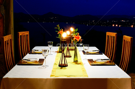 Candle light dinner table eating food drink pixoto candle light dinner table by john wassenaar food drink eating aloadofball Images