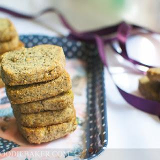 Black Sesame Icebox Cookies.