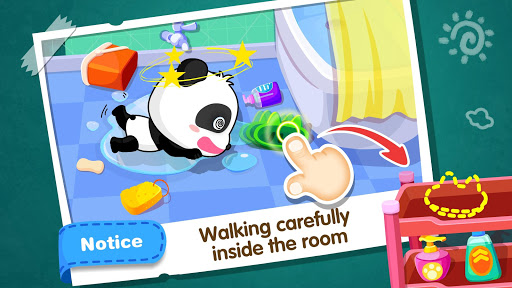 Baby Panda Safety u2013 Learn Childs Safe Tips  screenshots 4
