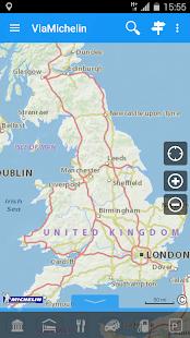 ViaMichelin Route planner,maps- screenshot thumbnail