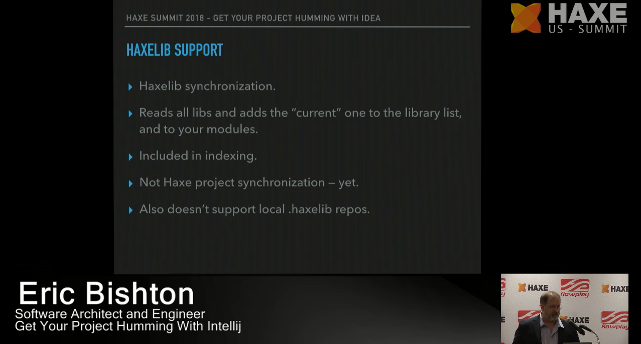Haxelib support