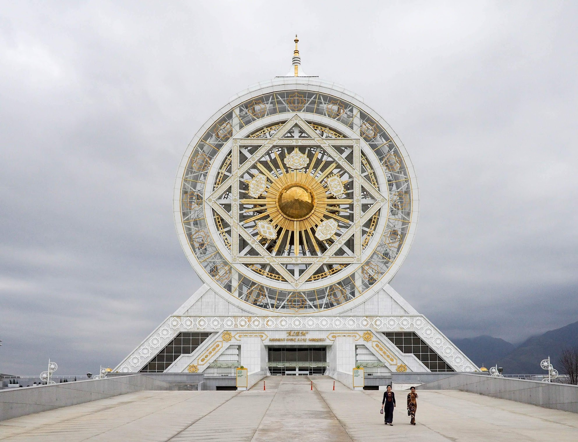 Turkmenistan Fact: World's largest indoor ferris wheel is in Ashgabat Turkmenistan
