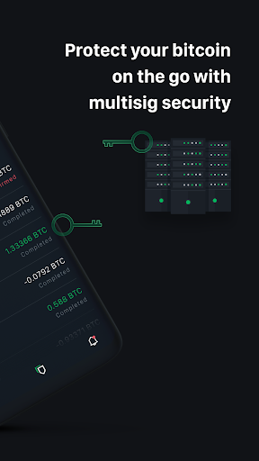 Green: Bitcoin Wallet 3.4.0 Screenshots 2