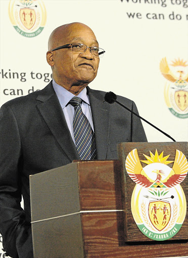 President Jacob Zuma announces his fourth cabinet reshuffle in four years