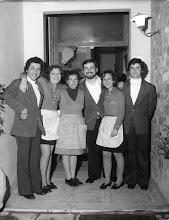 Photo: Da sx, Andrea, la Paola, la Giovanna, Alberto, Elena, Fabrizio.
