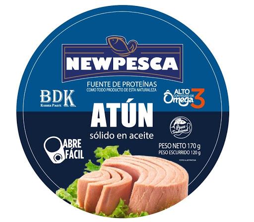 Atún Newpesca Aceite Vegetal 170 Gr