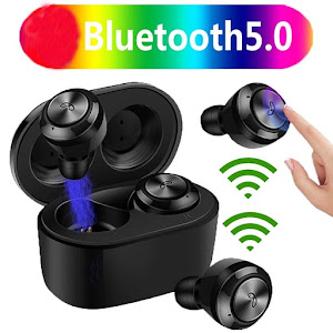 Casti Wireless DT-3 TWS Bluetooth 5.0, compatibile cu iOS & Android KATHODE