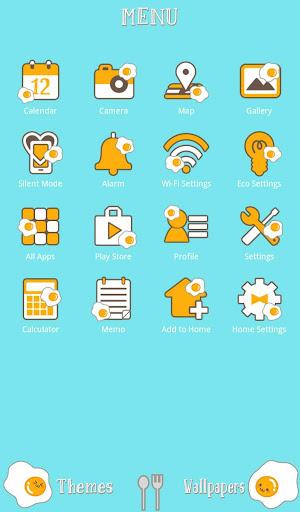 Sunny Side Up +HOME Theme 1.0.0 Windows u7528 2