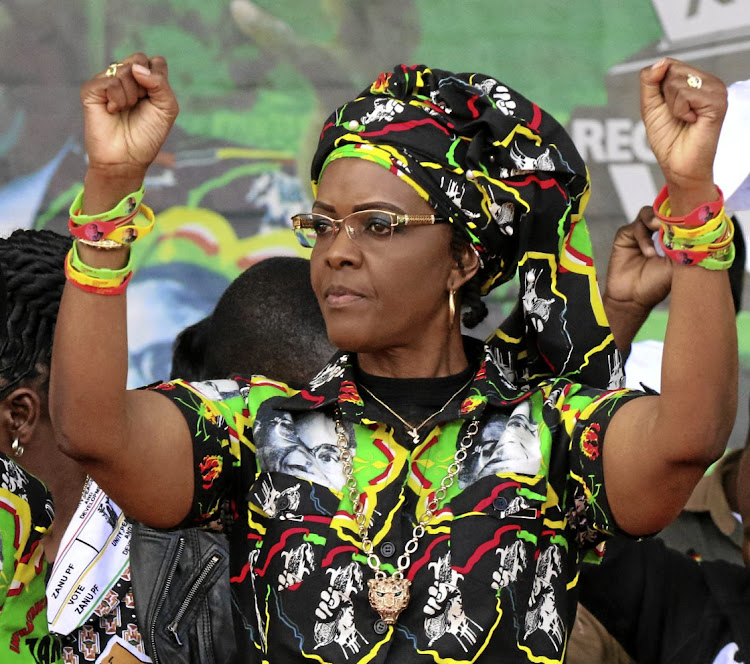 Grace Mugabe. File photo.