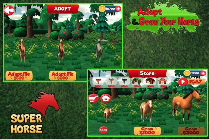android Super Horse 3D Screenshot 0