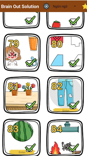 Brain Out Solution apkslow screenshots 1