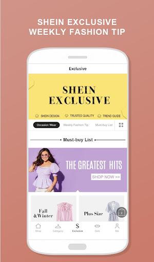 SHEIN-Fashion Shopping Online 6.4.6 screenshots 6