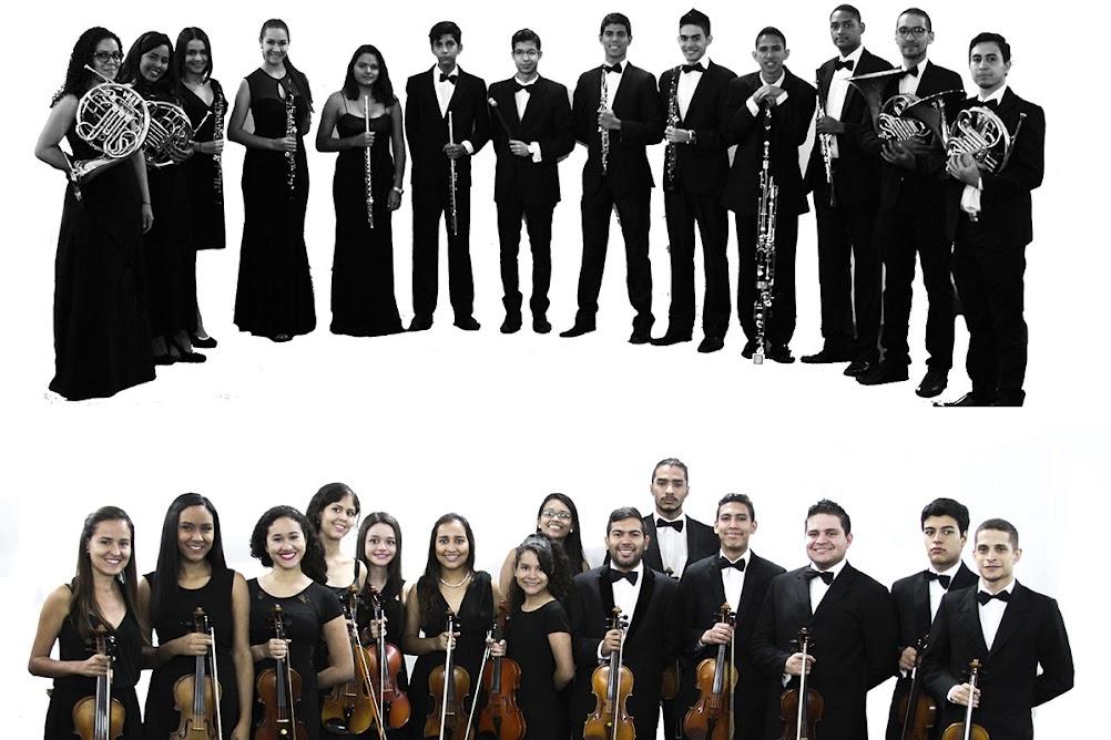 La Sinfónica Juvenil del Conservatorio de Música Simón Bolívar