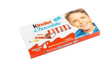 CHOCOLATINA KINDER   X8UND.