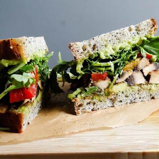 Portobello 'Bacon' Sandwich [Vegan, Gluten-Free] Recipe