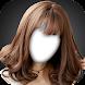 韓国のKPOPガール髪型写真モンタージュ