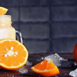 Orange Cilantro Smoothie.