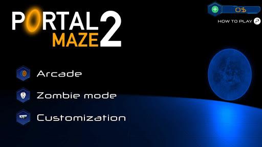Portal Maze 2 - Aperture spacetime jumper games 3d 1.4 screenshots 15