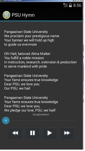 PSU Hymn