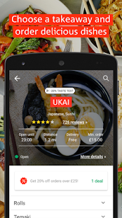 hungryhouse Takeaway Delivery - náhled
