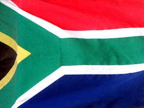 Photo: Flag of the South Africa