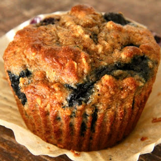 . Blueberry Banana Breakfast Muffins .