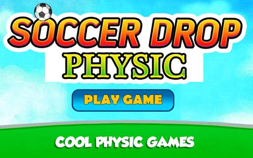 Soccer Drop Physic  captures d'écran 1