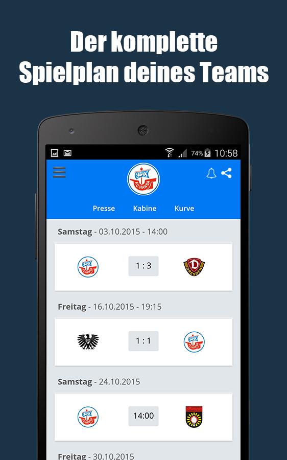 live fußball app