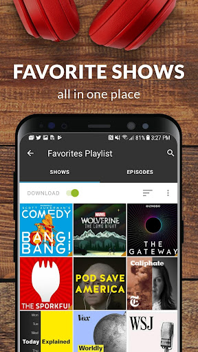 Stitcher - Podcasts & Radio - News, Comedy, & More screenshot