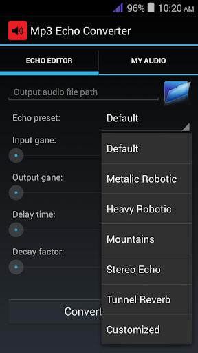 Mp3 Echo Effect Maker