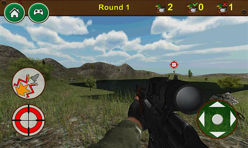 android Zombie Duck Hunting 3D Screenshot 1