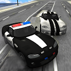 City Police Patrol Driving icon