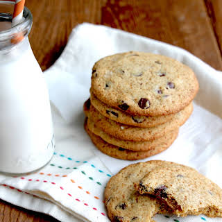 Salted Brown Butter Chocolate Chip Cookies.