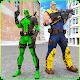 Cable Hero vs Dual Sword Pool Comic Hero combat (game)