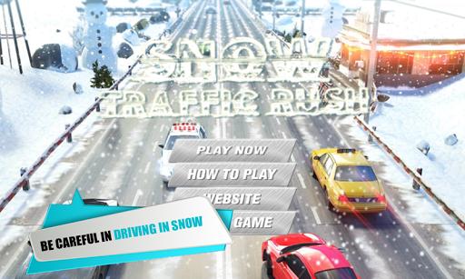 Snow Car Traffic Racing 3D
