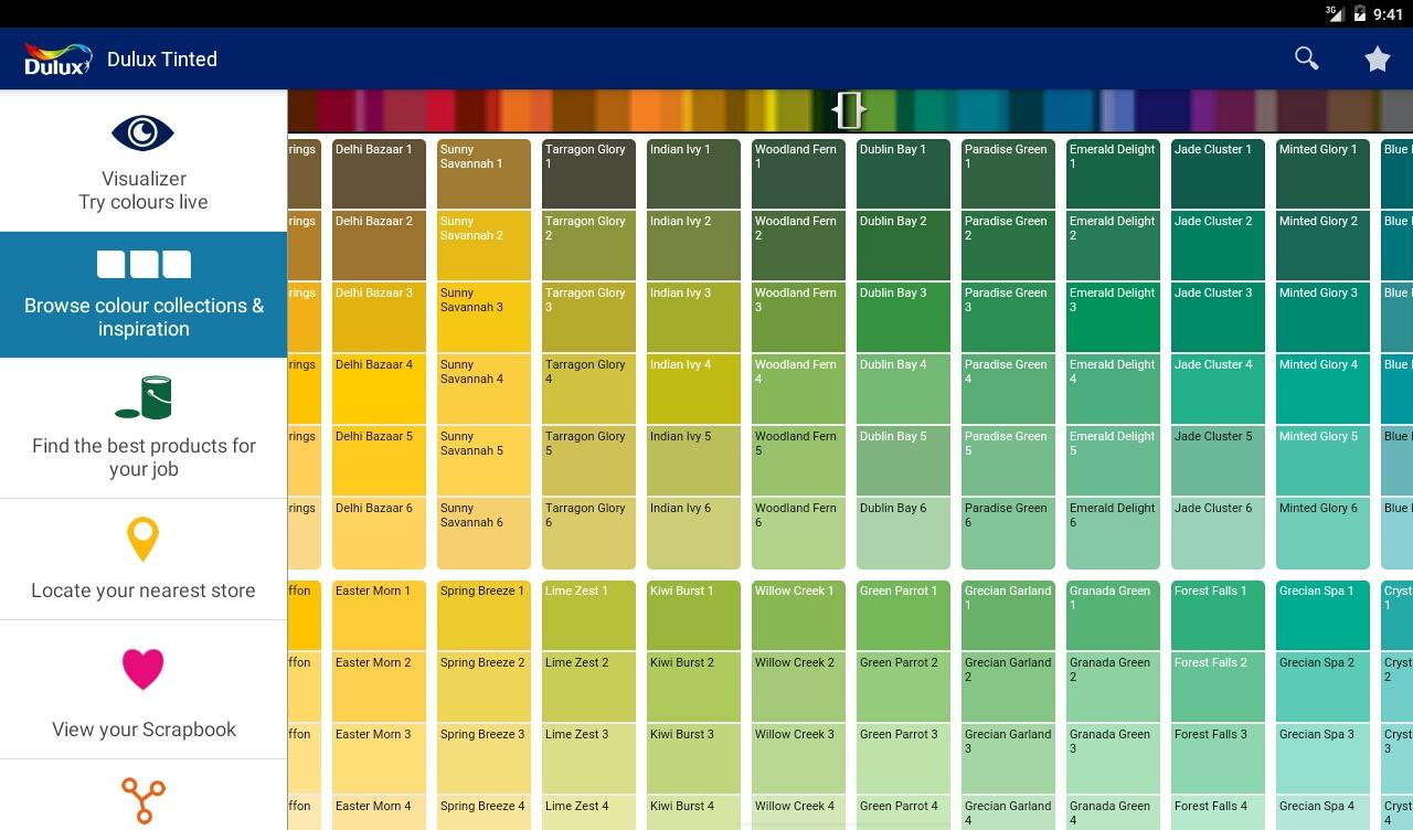 Dulux visualizer za android apps on google play - Dulux exterior gloss paint style ...