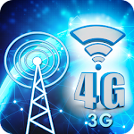 3G 4G Speed Booster Prank Icon